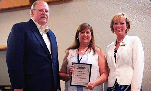 OTA Safety Award - 2015
