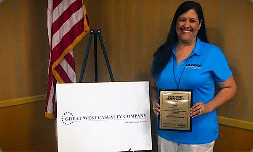 OTA Safety Award - 2016