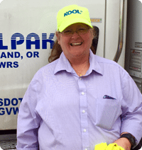 Driver Susan Esquivel