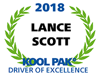 Driver of Excellence - Lance Scott