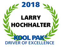 Driver of Excellence - Larry Hochhalter