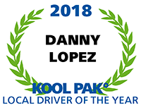 Local Driver of the Year - Danny Lopez